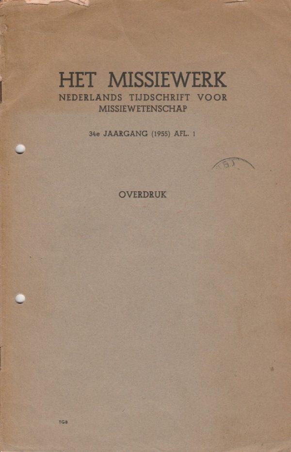 Tijdschrift: Het sociale probleem in Azië en Afrika (1955)