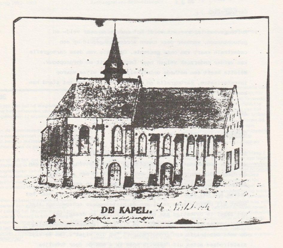 Kapel te Nistelrode
