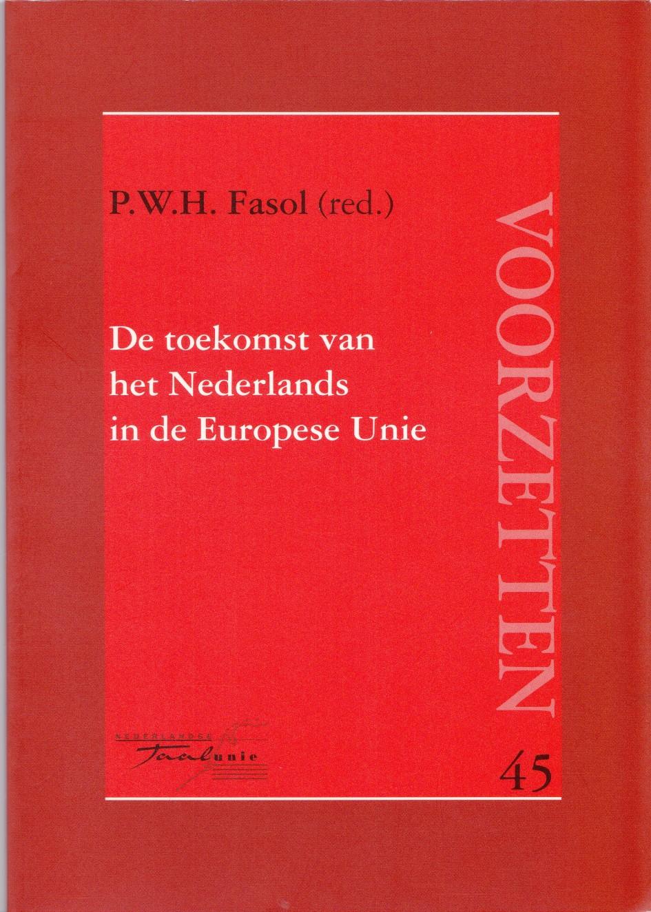 De toekomst van het Nederlands in de Europese Unie