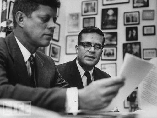 Ted Sorensen en John F. Kennedy
