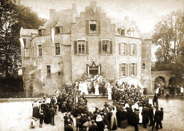 Kasteel Geijsteren in 1908.