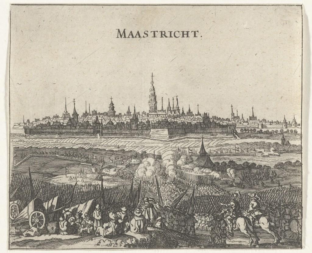 Beleg van Maastricht door het Staatse leger onder stadhouder Frederik Hendrik, 9 juni tot 21 augustus 1632