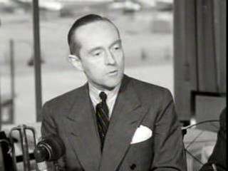 Foto: Minister Jan Herman van Roijen, ca 1949.