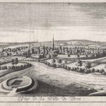 Zicht op Bree in 1740 - Remacle le Loup (1694-1746)