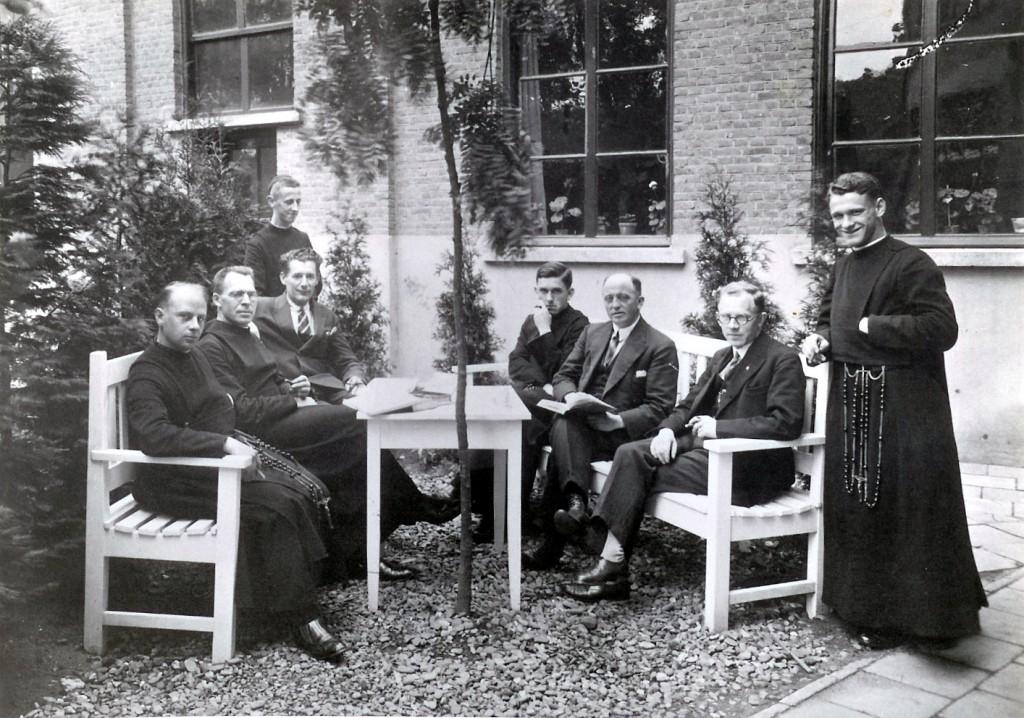 1938: Collega's van Piet Fasol (1890-1961)