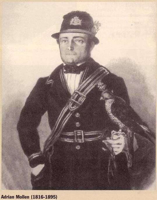 Adriaan Mollen (1816 – 1895), Valkenswaardse valkenier en vader van de laatste Valkenswaardse valkenier, Karel Mollen.