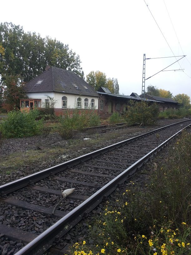 Het oude station van Kaldenkirchen.
