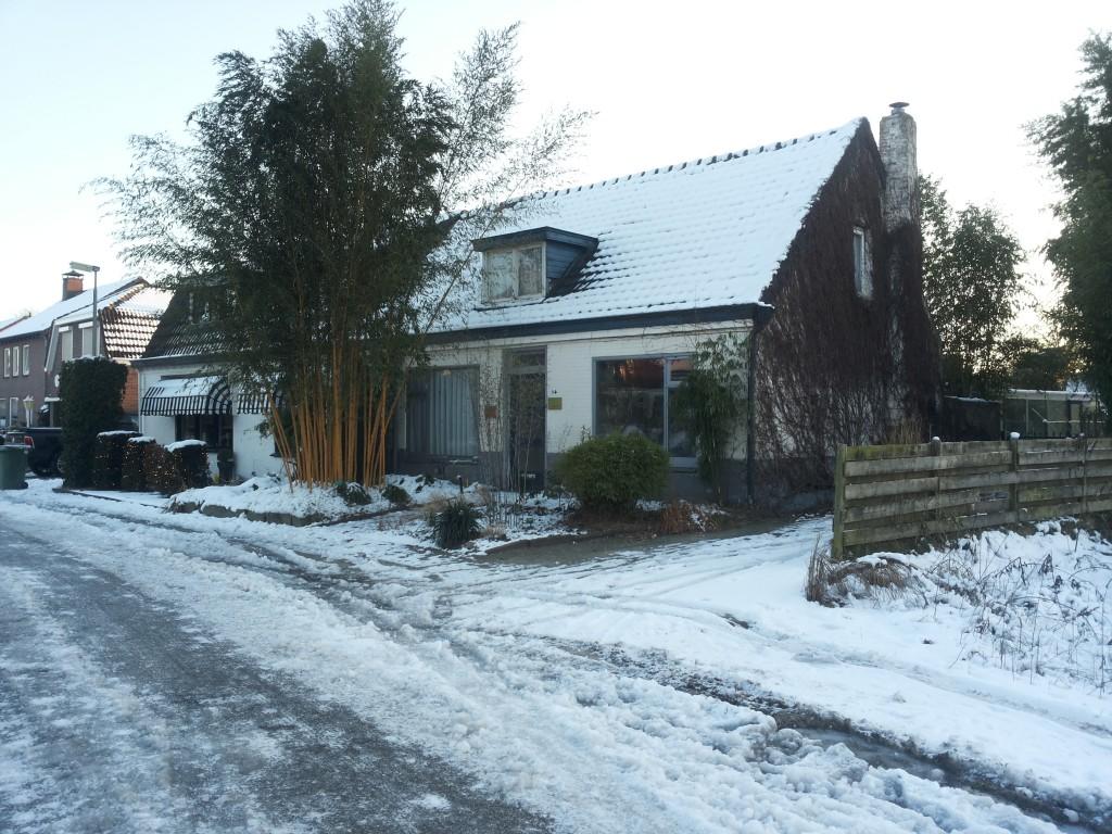 Het huis van Bartholomeus Fasol in de Zandbergstraat.