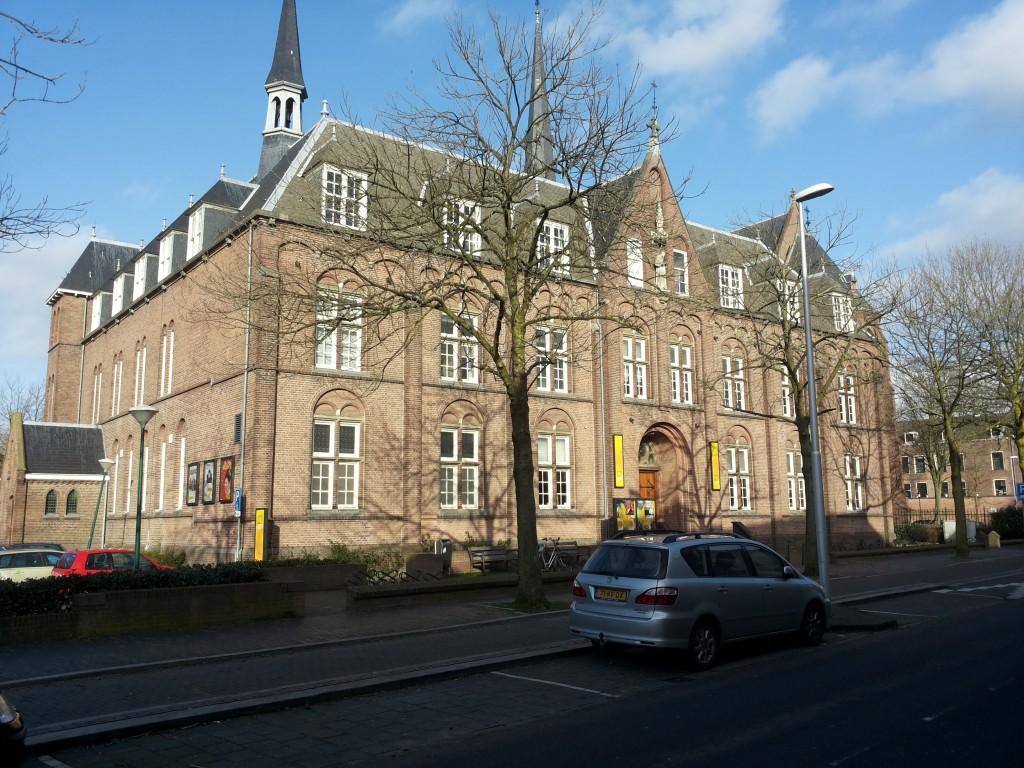 Het voormalige Franciscaner klooster in Woerden.