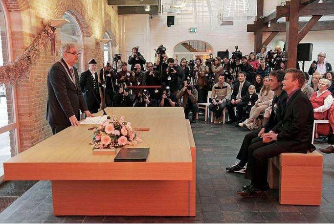 Huwelijk Jan van Breda en Thijs Timmermans, 01-04-2011