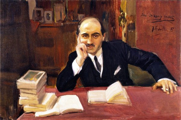 José Ortega y Gasset. Bron: http://www.the-athenaeum.org/art/detail.php?ID=45079