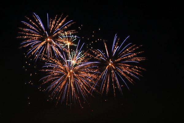De meest bezochte pagina's in 2015. Vuurwerk