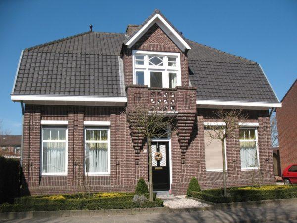 Het huis van de familie Peters in Oirlo in 2013. (Foto: P. Fasol)