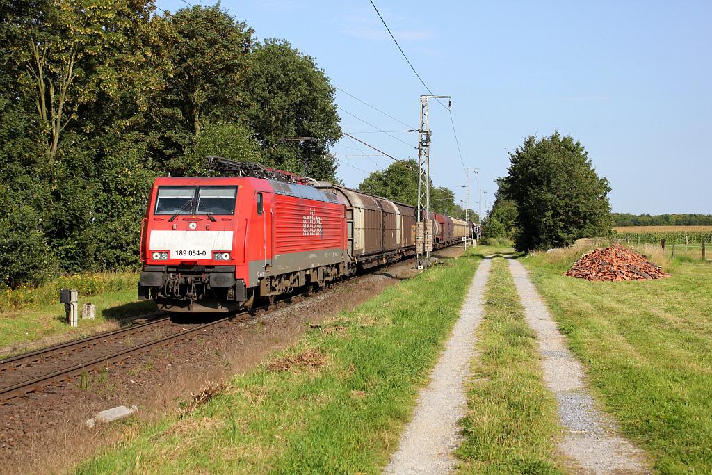 De spoorbaan tussen Breyell en Dülken, anno 2011 (foto: Drehscheibe online).