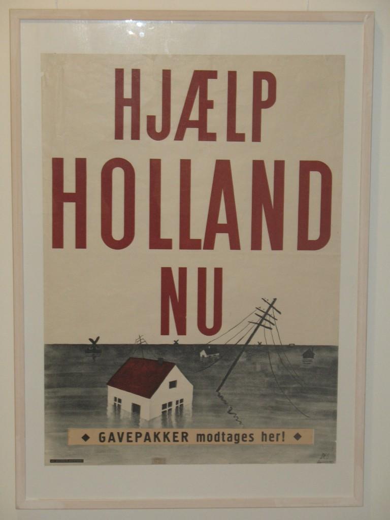 Deense hulpactie watersnoodramp 1953.