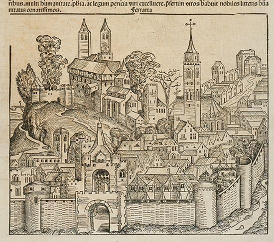 Ferrara, Michael Wolgemuth (Nürnberg 1493)