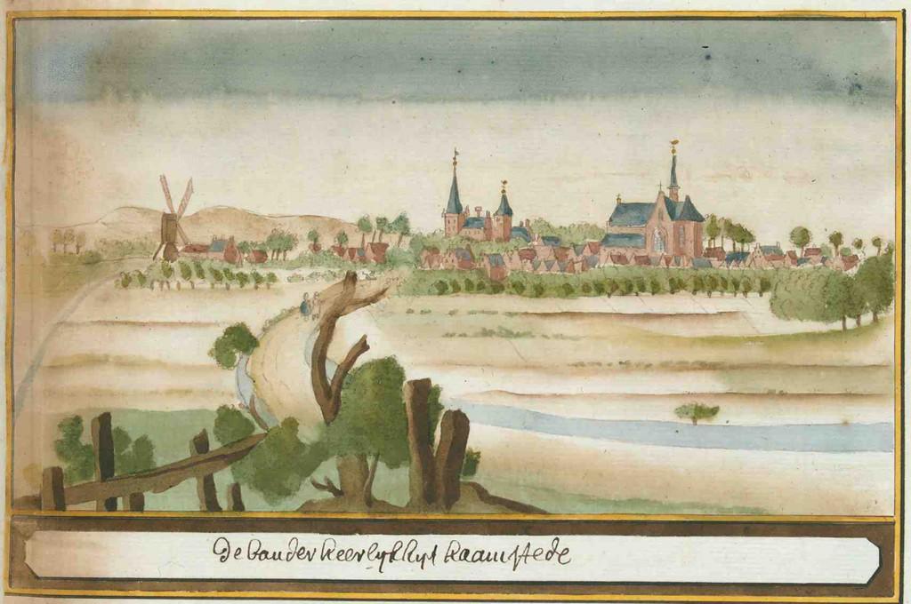 Burgh-Haamstede, Atlas Schoemaker (1710-1735).
