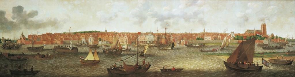 Adam Willaerts, Gezicht op Dordrecht.