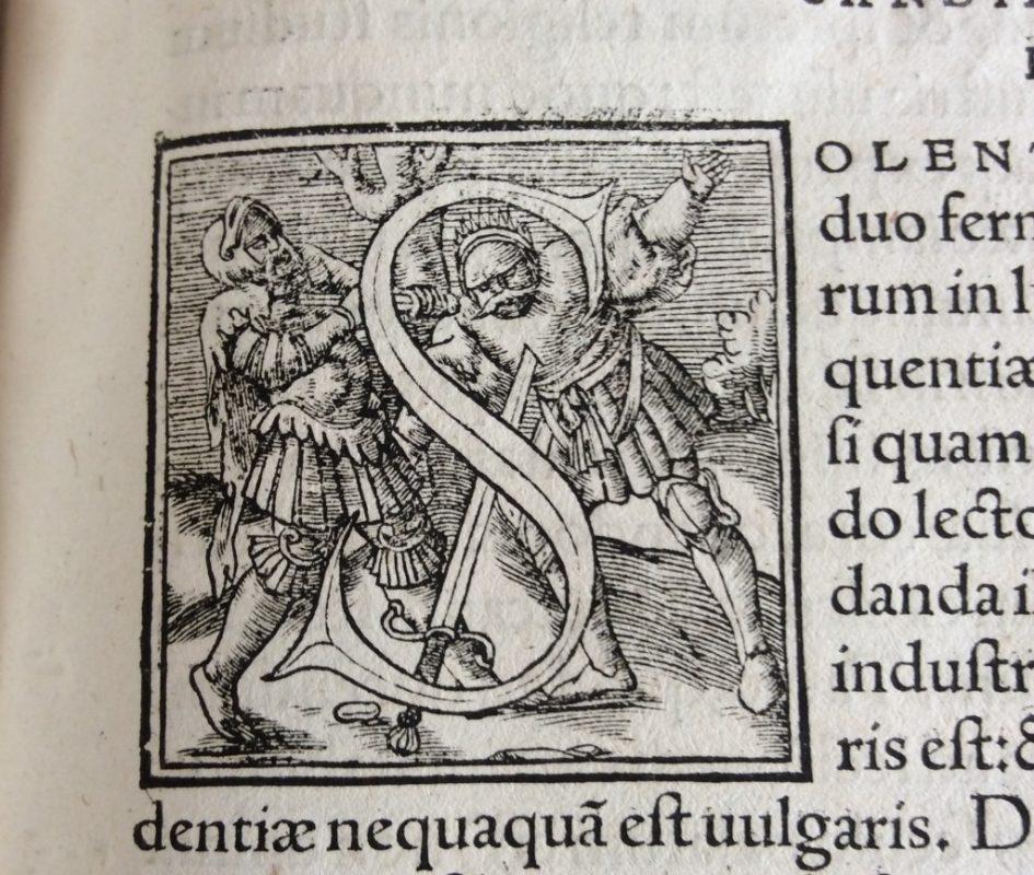 Kapitaal in verzamelde werken Bernardus van Clairvaux, 1552.