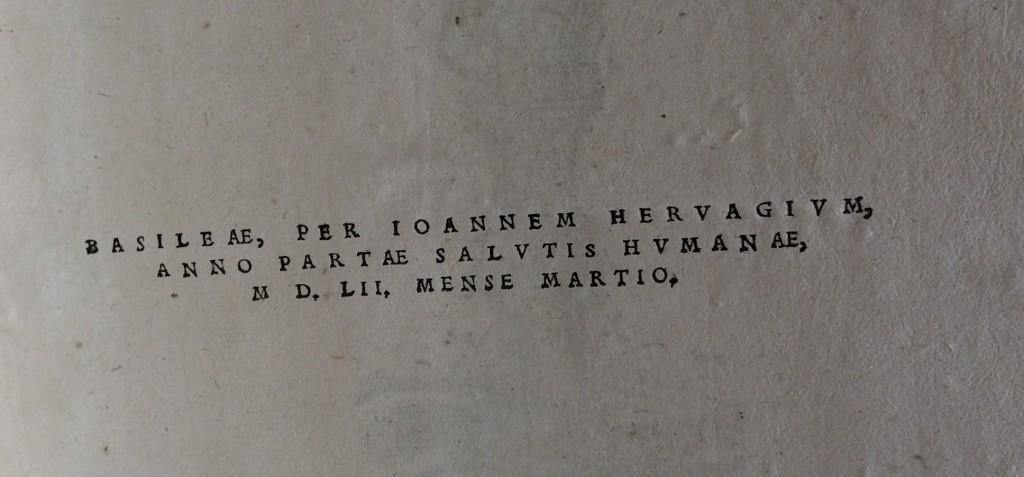 In de maand maart, 1552