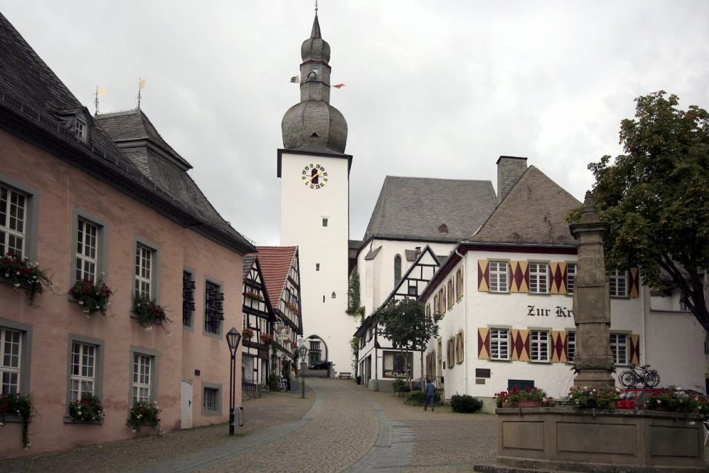 Arnsberg, kloosterkerk Wedinghausen, waar Ferdinandus Fasoll trouwde.